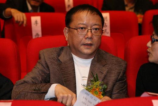 """图文:2007中国播音主持""""金话筒奖"""" 王刚出席"""