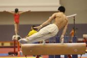 图文:体操队练习