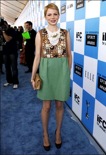 《ELLE》选最佳穿着女星 凯特-布兰切特登榜首-搜狐娱乐 Michelle Williams