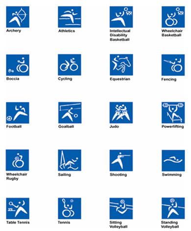 2000年悉尼残奥会体育图标