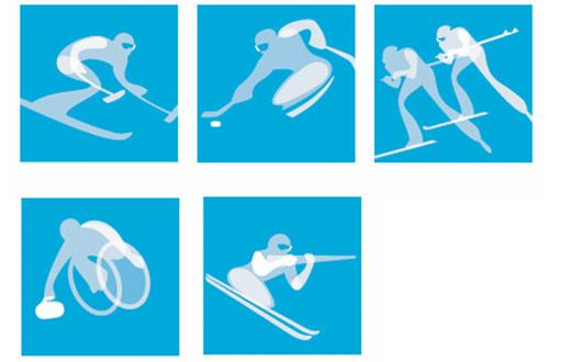 2006年都灵残奥会体育图标