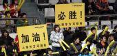 图文:男排总决赛上海夺冠 沪上观众鼎力支持