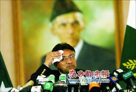 巴基斯坦总统穆沙拉夫。