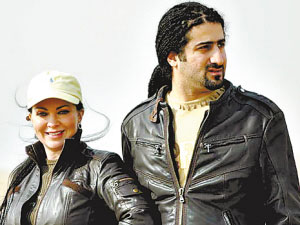 奥马尔和妻子费利克斯·布朗