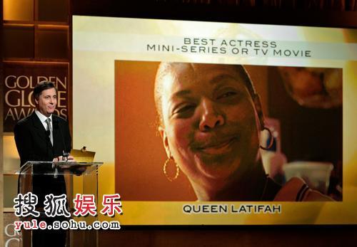 奎因-拉蒂法获得最佳电视电影女演员奖