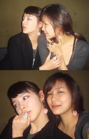 朴诗妍与妹妹