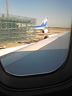 中川翔子机舱内拍摄的照片