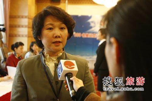 上海赛区:采访国航客舱服务部总经理