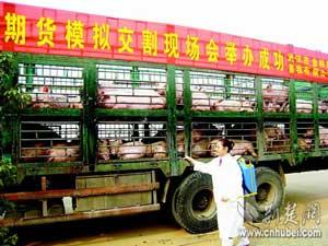 生猪期货在汉待发