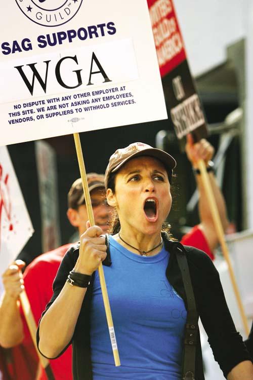 美编剧罢工影响着美国的娱乐圈