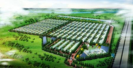 禾惠庄园农场鸟瞰图