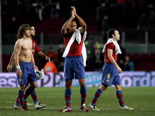 图文:国王杯巴萨0-0塞维利亚 亨利成为功臣