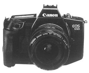 EOS系列中的第一款相机:650 AF单反相机