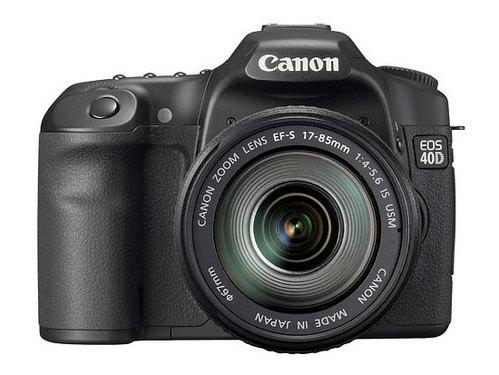 佳能最新数码单反相机产品:EOS 40D