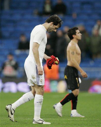 图文:国王杯皇马0-1马洛卡 范尼神奇不在