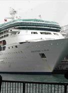 亚洲最大邮轮抵港