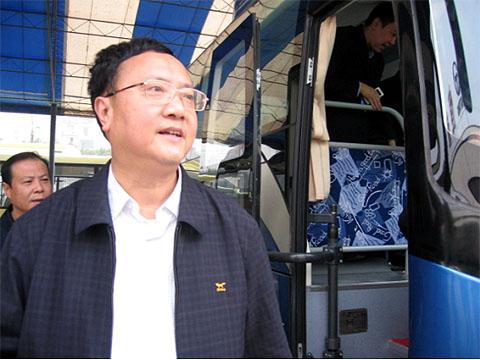 重庆副市长余远牧。资料图