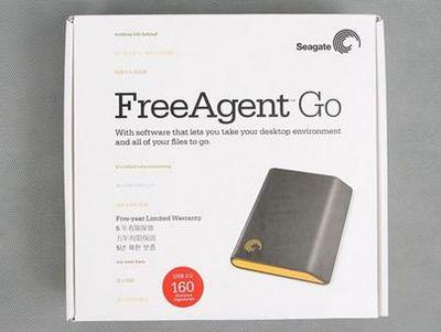 你也值得拥有  希捷FreeAgent数据移动硬盘