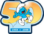 可爱的蓝精灵勾起我们童年的回忆