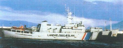 V/s Óðinn号远洋巡逻船