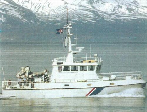 M/s Baldur号水文测量船