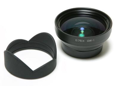GR光学标准的外接镜头GW-1