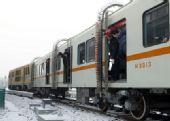北京地铁10号线今进入试运行 首次冷滑试车(图)