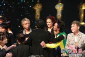 香港十大中文金曲颁奖礼现场 群星合影