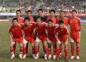 图文:[热身赛]国足0-0黎巴嫩 中国队首发11人