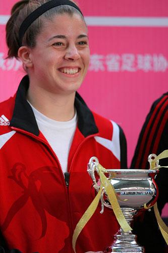 图文:[四国赛]中国0-1美国 加拿大获季军
