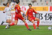 图文:[四国赛]中国0-1美国 就看谁跑得快