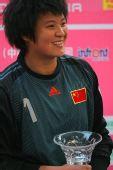 图文:[四国赛]中国0-1美国 张艳茹最佳门奖