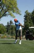 图文:纳达尔生活写真图集 业余时间喜欢高尔夫