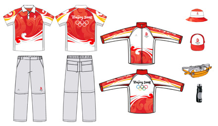 北京奥运会工作人员制服