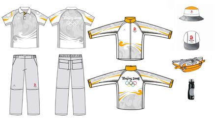北京奥运会技术官员制服