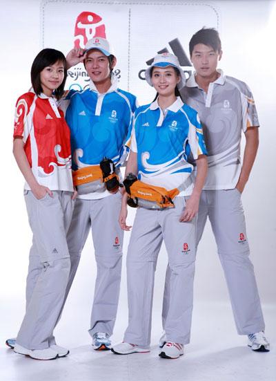 北京视频残奥发布制服红蓝灰成为三主色三国霸奥运制图片