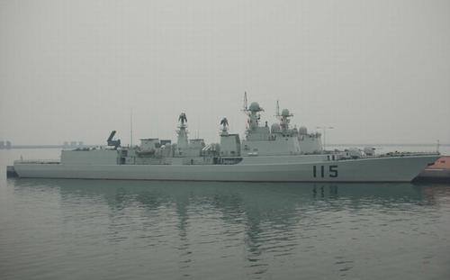 中国海军051C级115号导弹驱逐舰