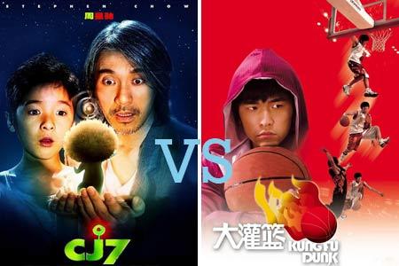 《长江七号》VS《大灌篮》