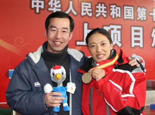 冬季两项刘显英再得金 老公妇唱夫随助阵