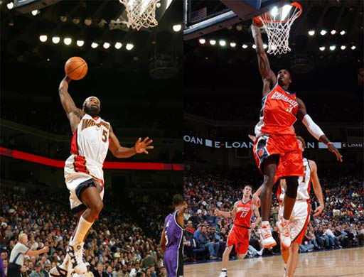 NBA上周东、西部最佳球员