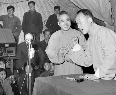 1950年代的相声大师侯宝林