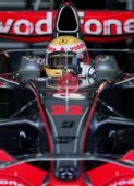 图文:[F1]瓦伦西亚官方试车 哈密尔顿整装待发