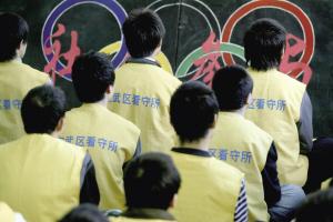 在押人员学习奥运知识