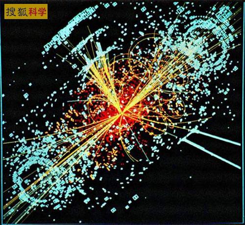 大型强子对撞机的模拟事件