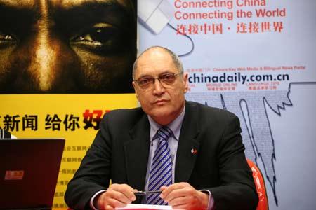 大使先生做客搜狐网-中国日报网联合访谈。