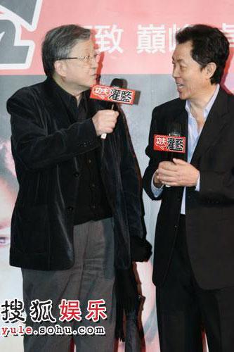 台北西门町举办全球首映。李行与朱延平