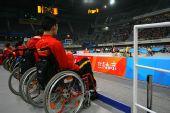 图文:国家体育馆运动员无障碍看台观赛