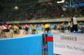 图文:国家体育馆无障碍设施 无障碍摄影席位