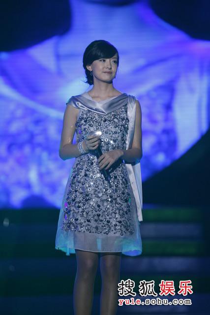 2007雪碧音乐榜颁奖礼现场 周奇奇亮相雪碧音乐榜