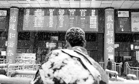 6万余人滞留京珠高速湖南段
